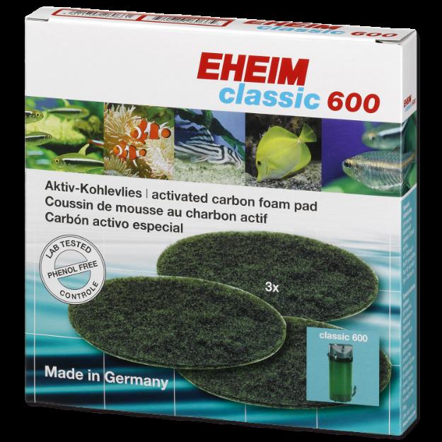Nápln EHEIM molitan uhlíkový jemný Classic 600 3ks